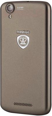 Смартфон Prestigio MultiPhone 5453 Duo (металлик) - общий вид