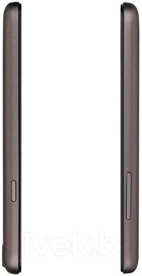 Смартфон Prestigio MultiPhone 5453 Duo (металлик) - вид сбоку