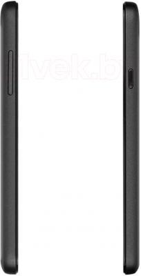 Смартфон Prestigio MultiPhone 5453 Duo (черный) - вид сбоку