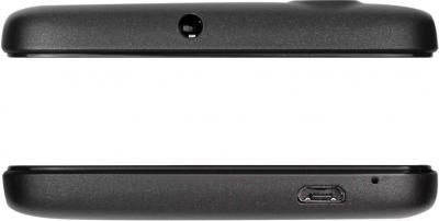 Смартфон Prestigio MultiPhone 5453 Duo (черный) - вид снизу и сверху