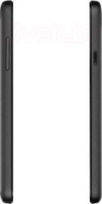Смартфон Prestigio MultiPhone 5504 Duo (черный) - вид сбоку