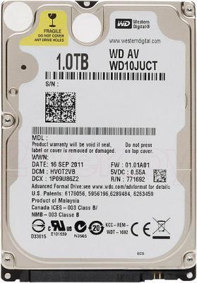 Жесткий диск Western Digital AV-25 1TB (WD10JUCT) - общий вид
