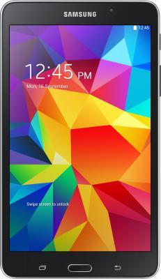 Планшет Samsung Galaxy Tab4 7.0 8GB / SM-T230 (черный) - фронтальный вид