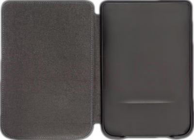 Обложка для электронной книги PocketBook PBPCC-624-BK (Touch Lux/Touch Lux 2) - в раскрытом виде