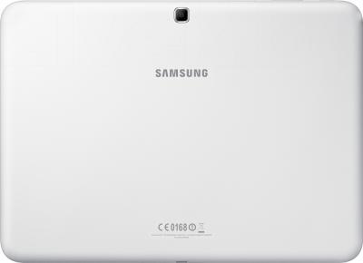 Планшет Samsung Galaxy Tab 4 10.1 16GB White (SM-T530) - вид сзади