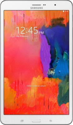 Планшет Samsung Galaxy Tab Pro 8.4 16GB LTE White (SM-T325) - фронтальный вид