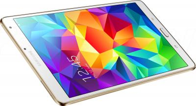 Планшет Samsung Galaxy Tab S 8.4 16GB LTE / SM-T705 (белый) - вид сверху