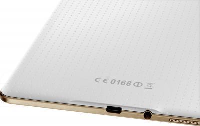 Планшет Samsung Galaxy Tab S 8.4 16GB LTE / SM-T705 (белый) - разъемы