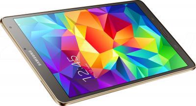Планшет Samsung Galaxy Tab S 8.4 16GB LTE / SM-T705 (серебристый) - вид сверху