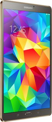 Планшет Samsung Galaxy Tab S 8.4 16GB LTE / SM-T705 (серебристый) - общий вид