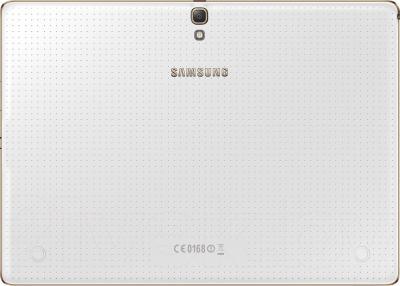 Планшет Samsung Galaxy Tab S 10.5 16GB Dazzling White (SM-T800) - вид сзади