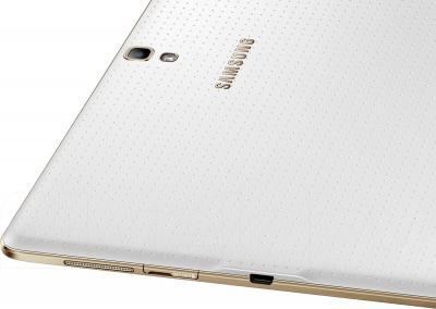 Планшет Samsung Galaxy Tab S 10.5 16GB Dazzling White (SM-T800) - разъемы и камера