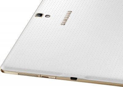 Планшет Samsung Galaxy Tab S 10.5 16GB LTE / SM-T805 (белый) - разъемы