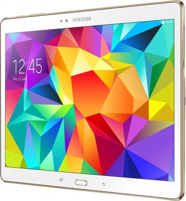 Планшет Samsung Galaxy Tab S 10.5 16GB LTE / SM-T805 (белый) - общий вид