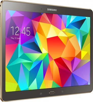 Планшет Samsung Galaxy Tab S 10.5 16GB LTE / SM-T805 (серебристый) - общий вид