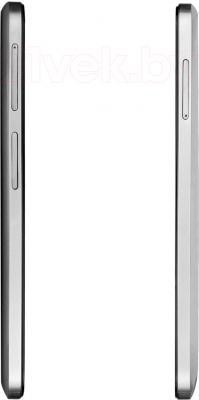 Смартфон Prestigio MultiPhone 5508 Duo (металлик) - вид сбоку