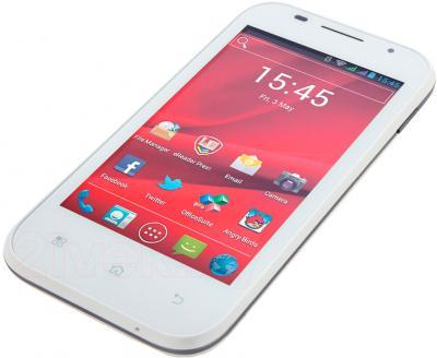 Смартфон Prestigio MultiPhone 4044 Duo (белый) - общий вид