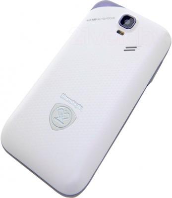 Смартфон Prestigio MultiPhone 4044 Duo (белый) - вид сзади