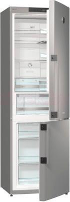 Холодильник с морозильником Gorenje NRK61JSY2X - общий вид