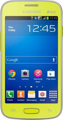 Смартфон Samsung Galaxy Star Plus / S7262 (зеленый) - вид спереди