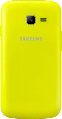 Смартфон Samsung Galaxy Star Plus / S7262 (зеленый) - задняя панель
