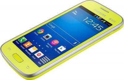 Смартфон Samsung Galaxy Star Plus / S7262 (зеленый) - общий вид