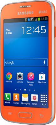 Смартфон Samsung Galaxy Star Plus / S7262 (оранжевый) - общий вид