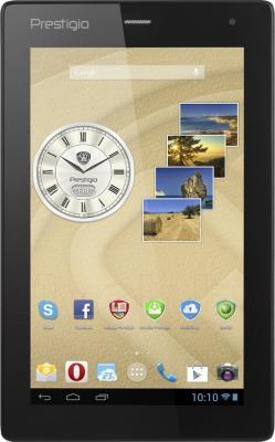 Планшет Prestigio MultiPad Ranger 7.0 3G 8GB (PMT3277_3G_C_BK_UK) - фронтальный вид