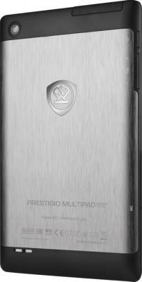Планшет Prestigio MultiPad Ranger 7.0 3G 8GB (PMT3277_3G_C_BK_UK) - вид сзади