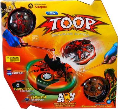 """Игровой набор TOOP Боевые волчки """"Марс и Торнадо"""" - упаковка"""
