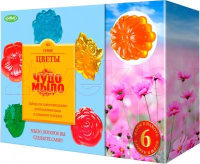 Набор для изготовления мыла КАРРАС Чудо-Мыло. Цветы (165) - общий вид
