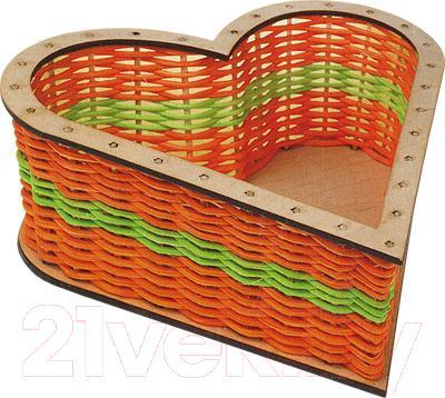 Набор для плетения Kids Craft Сердце
