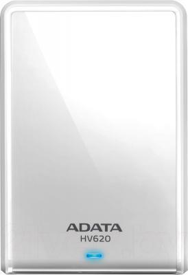 Внешний жесткий диск A-data DashDrive HV620 1TB (AHV620-1TU3-CWH) - общий вид