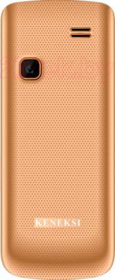 Мобильный телефон Keneksi C7 (золотой) - задняя панель