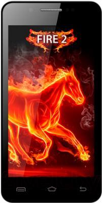 Смартфон Keneksi Fire 2 (черный) - общий вид