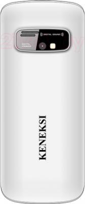 Мобильный телефон Keneksi S2 (серебристый) - задняя панель