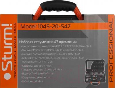 Универсальный набор инструментов Sturm! 1045-20-S47 - упаковка