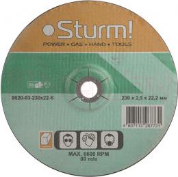 Отрезной круг Sturm! 9020-03-230x22-S - общий вид