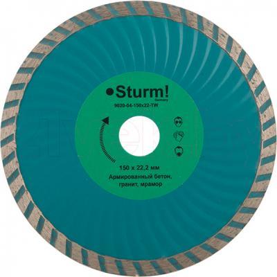 Алмазный диск Sturm! 9020-04-150x22-TW - общий вид