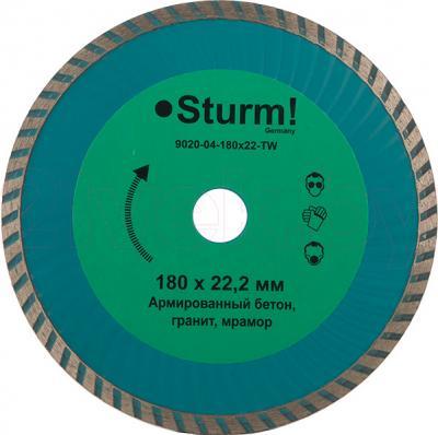 Алмазный диск Sturm! 9020-04-180x22-TW - общий вид