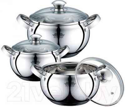 Набор кухонной посуды Peterhof PH-15277S - общий вид