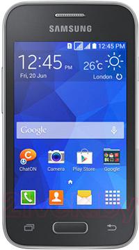 Смартфон Samsung G130H (серый) - общий вид