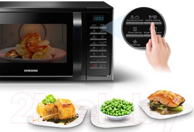 Микроволновая печь Samsung MC28H5013AW/BW - презентационное фото 1