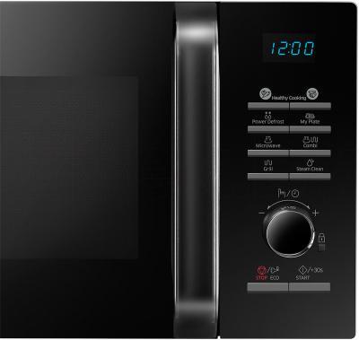 Микроволновая печь Samsung MG23H3115NW/BW - элементы управления