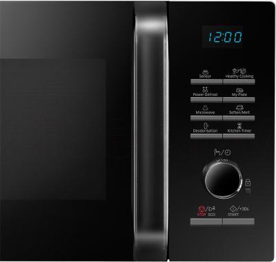 Микроволновая печь Samsung MS23H3115FW/BW - элементы управления