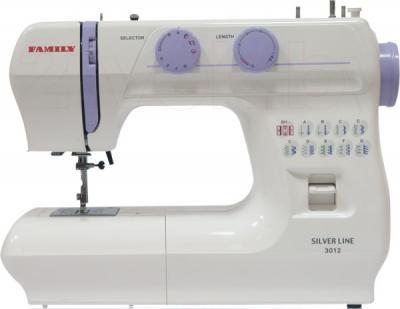 Швейная машина Family Silver Line 3012 - общий вид