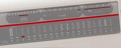 Швейная машина Family Gold Master 8018A - операции