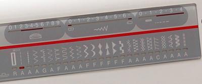 Швейная машина Family Gold Master 8024A - операции