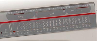 Швейная машина Family Gold Master 8124E - операции