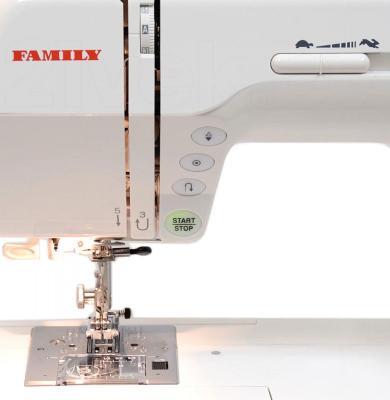 Швейная машина Family Platinum Line 4700 - рабочая область
